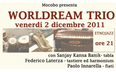 Etnojazz con worldream trio