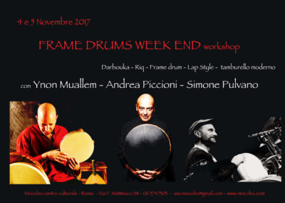 frame drums week end