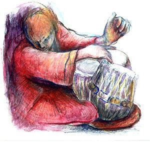 Percussioni indiane: Tabla
