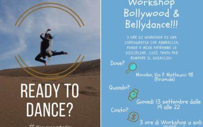 Danze orientali-bollywood e bellydance