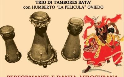 FESTA PER OYA: RITMI DANZE E CANTI AFROCUBANI