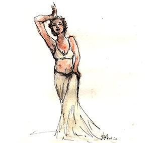 Danza del ventre stile Tribal Fusion