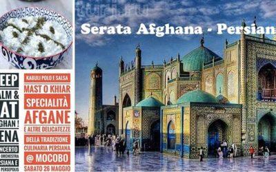 Concerto di musica Afghana e Persiana